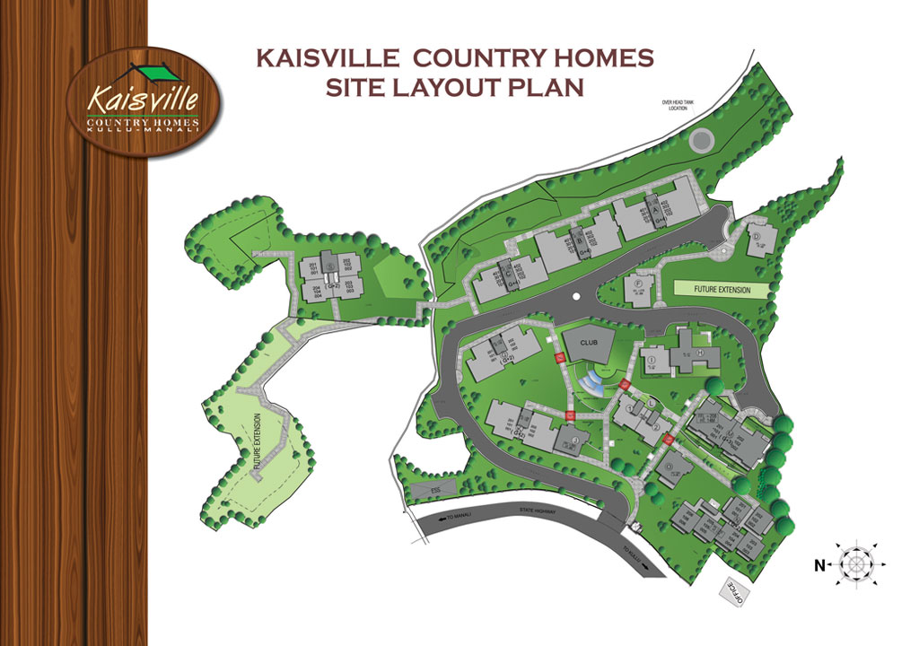 Kullu Country Homes Site Layout Plan
