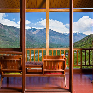 valley view Apartments in Kullu