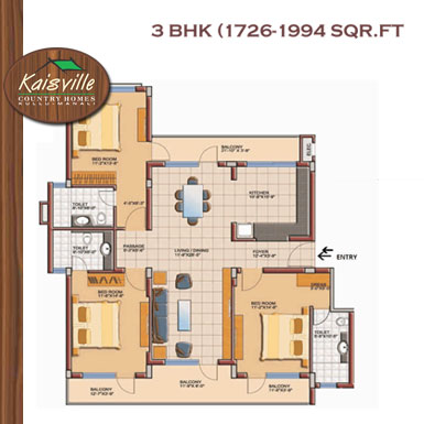3 BHK Flats in Kulu