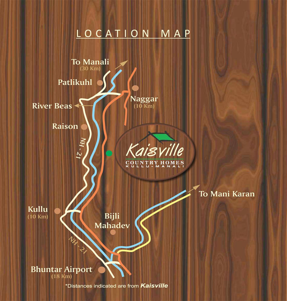 Kais Ville Country Homes 1, 2, 3 BHK apartments, flats Location Map